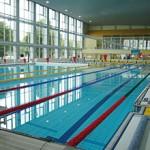 Schwimmhalle im Sportforum Hohenschönhausen
