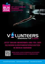 Helferaufruf zur Schwimm-EM 2014 in Berlin