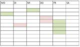 Trainingsgruppeneinteilung ab September 2016 für die Saison 2016/2017